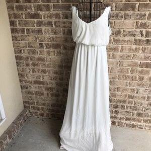 Show Me Your Mumu White Kendall Maxi Dress Wedding